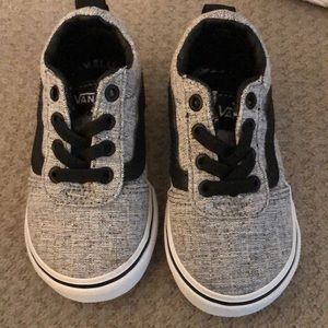 Vans toddler sneakers size 5